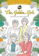 Load image into Gallery viewer, Art of Coloring: Golden Girls: 100 Images to Inspire Creativity