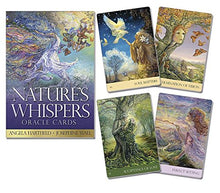 Load image into Gallery viewer, Nature's Whispers Oracle Cards [Angela Hartfield & Josephine Wall]