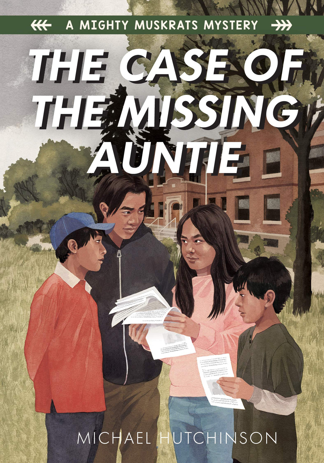 The Case of the Missing Auntie [Michael Hutchinson]