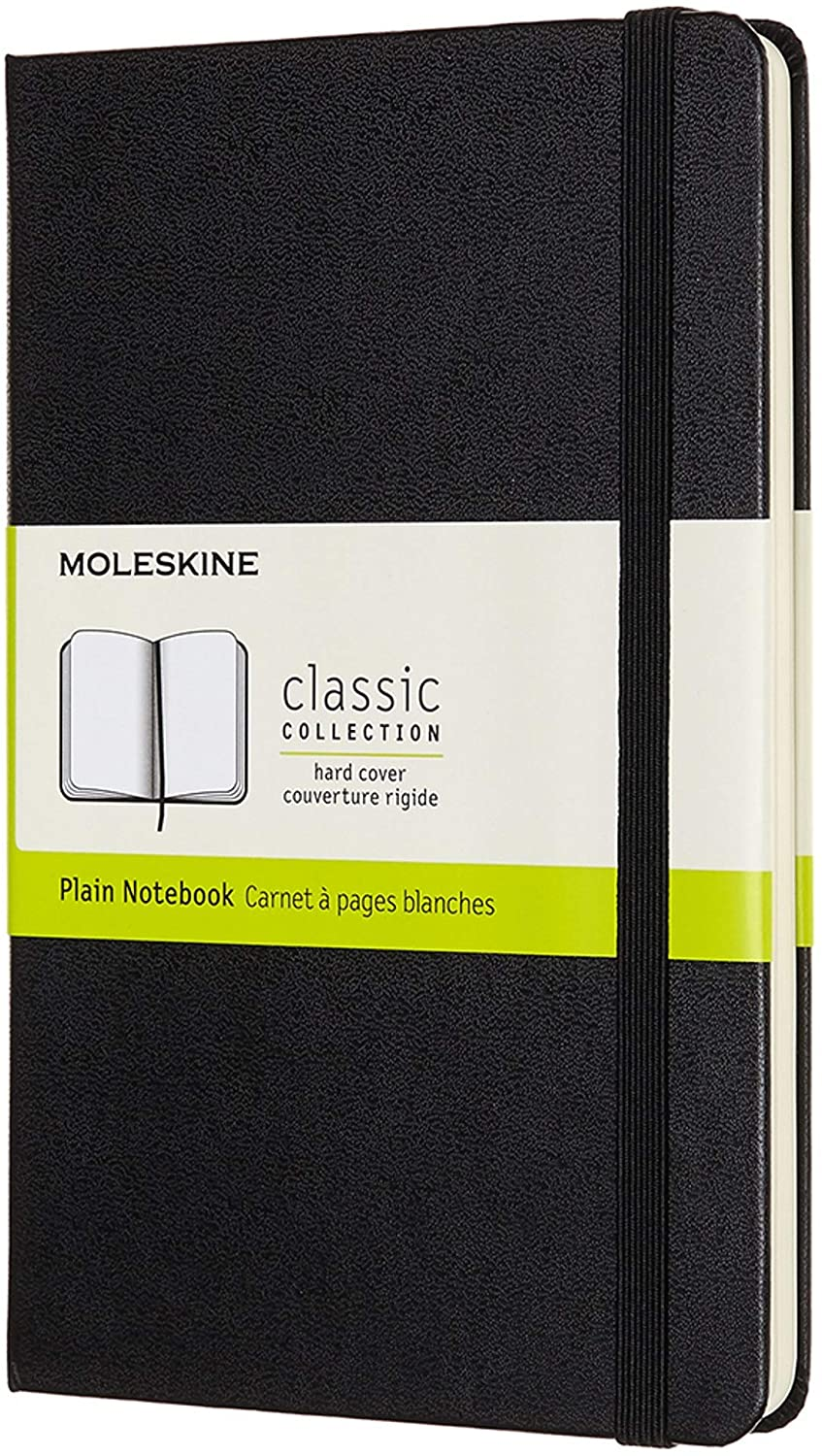Moleskine Classic Notebook [Hard Cover | Medium (4.5