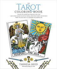 Load image into Gallery viewer, Tarot Coloring Book [Theresa Reed & Mary Greer]