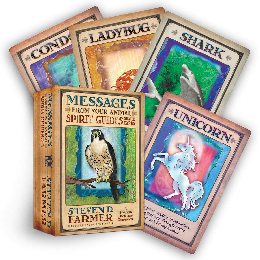 Messages From Your Animal Spirit Guides Cards [Steven D. Farmer]