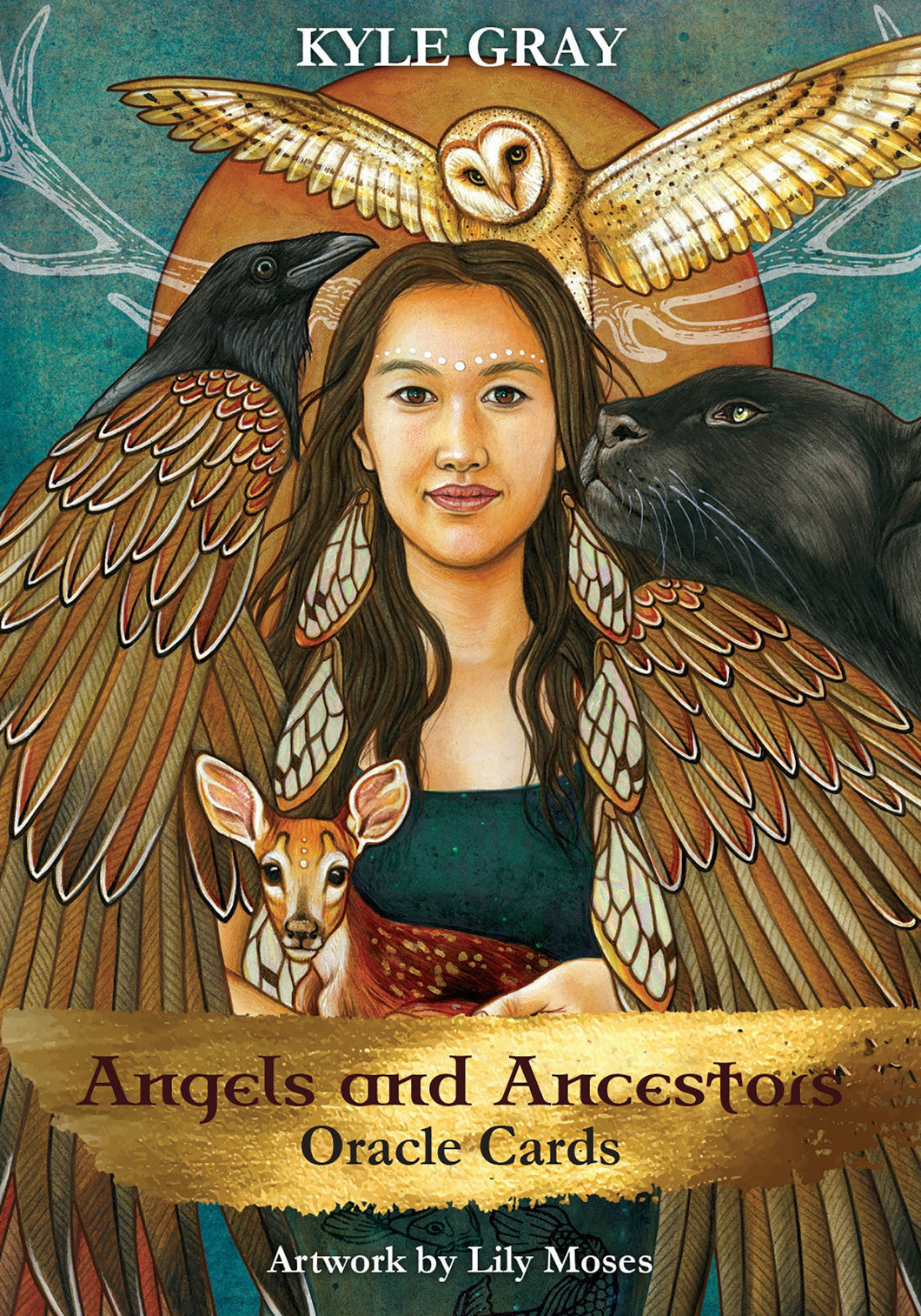Angels & Ancestors Oracle Cards [Kyle Gray]