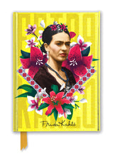 Load image into Gallery viewer, Frida Kahlo Yellow Foiled Journal