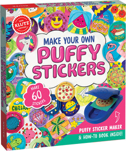 Make your own Puffy Stickers [Klutz Press]