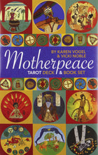 Load image into Gallery viewer, Motherpeace Round Tarot Deck & Book Set [Karen Vogel]