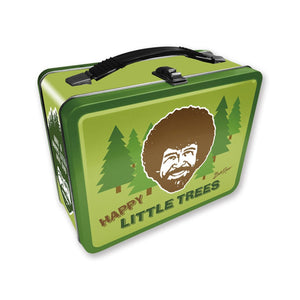 Bob Ross Happy Little Trees Lunch Box