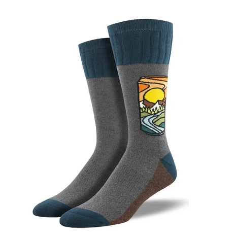 Men's Brew With A View Socks