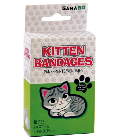 Kitten Bandages