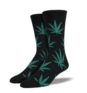 Men's Pot Leaf Socks