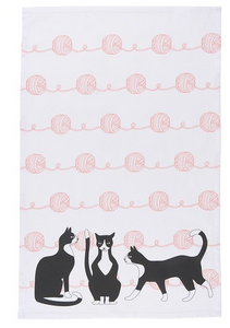 Great Catsby Dish Towel