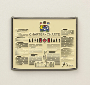 Charter of Rights and Freedoms Pin