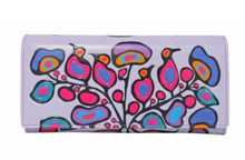 Load image into Gallery viewer, Woodland Floral Wallet [Norval Morrisseau]