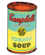 Load image into Gallery viewer, Andy Warhol Mini Soup Can 100 Piece Puzzle