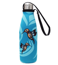 Load image into Gallery viewer, Hummingbird Water Bottle & Sleeve