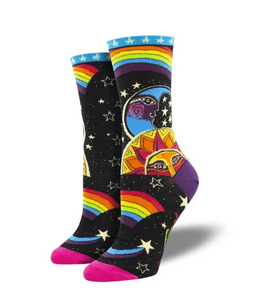 Women's Laurel Burch Celestial Joy Socks