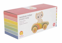 Load image into Gallery viewer, Cruisin' Kitty - Rainbow Roller