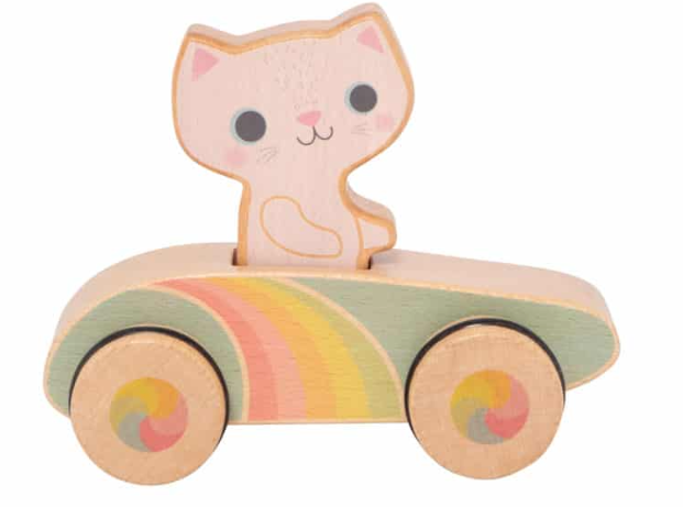 Cruisin' Kitty - Rainbow Roller