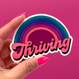 Thriving Rainbow Stickers