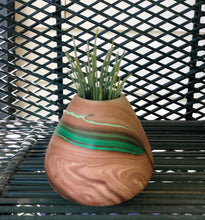 Load image into Gallery viewer, Vintage Nemadji Style Pottery Vase (Small)
