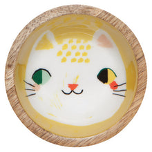 Load image into Gallery viewer, Meow Meow Mini Mango Wood Dish