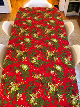 Load image into Gallery viewer, Vintage Christmas Table Cloth #1