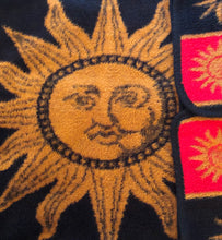 Load image into Gallery viewer, '90s Celestial Reversible Throw (Red, Black, Ochre)