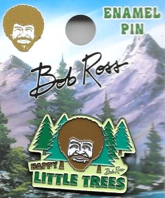 Bob Ross Trees Enamel Pin