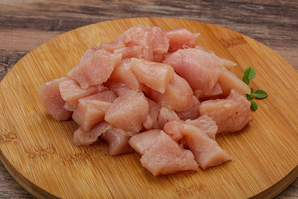 Diced Chicken Breast Boneless (1Kg)