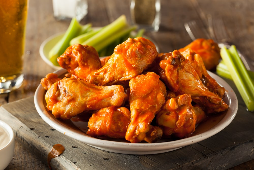 Frozen Hot And Spicy Chicken Wings (1Kg)