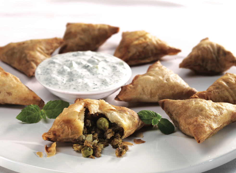 Frozen Mini Lamb Samosa (25Pcs)