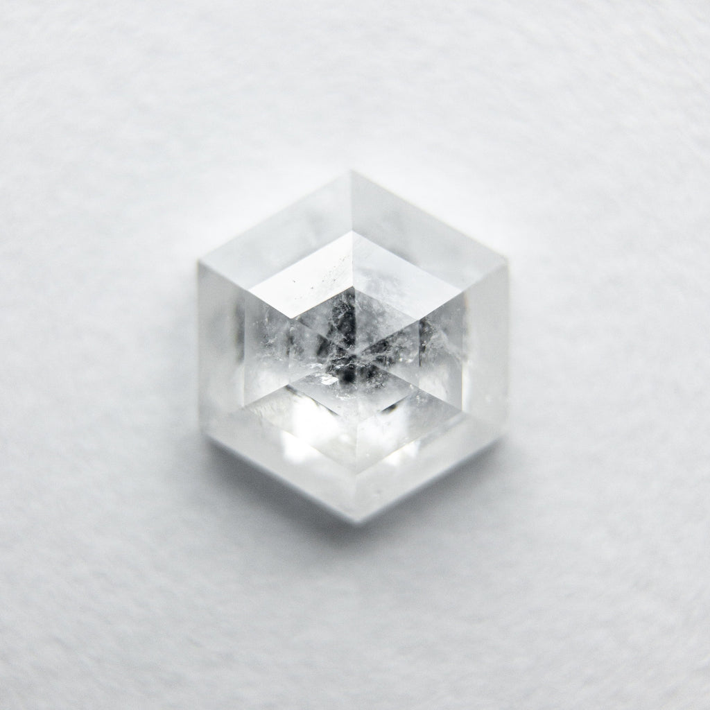 0.93ct Hexagon Rose Cut Diamond