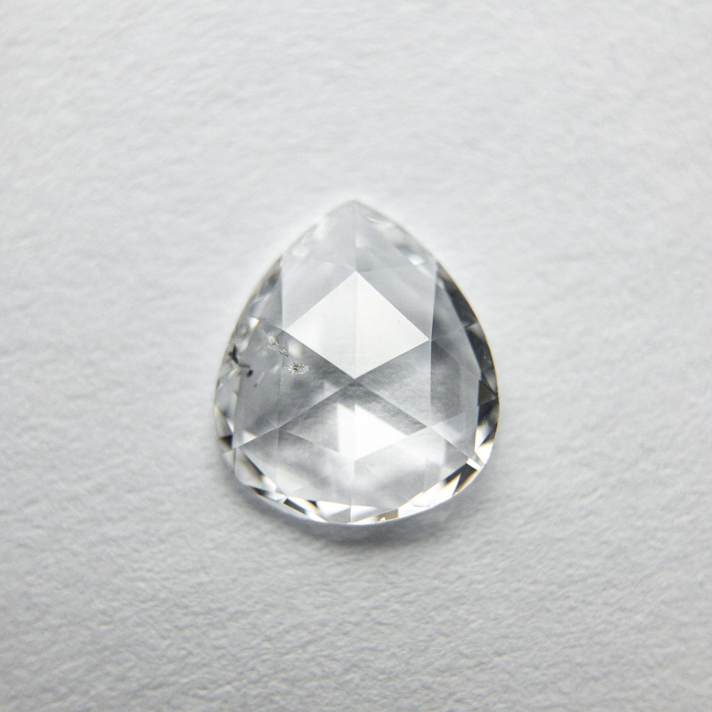 0.65ct Pear Rose Cut Diamond