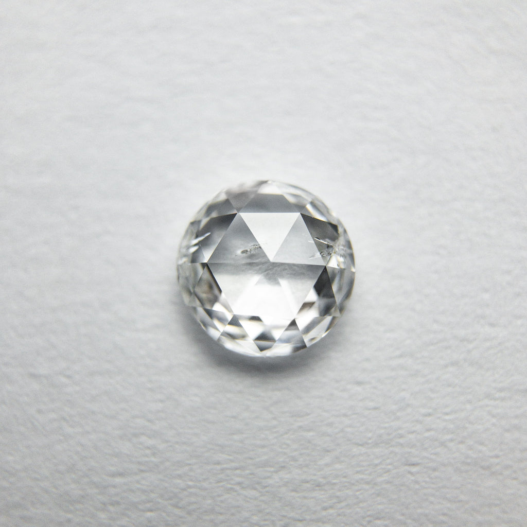 0.58ct Round Rose Cut Diamond