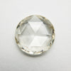 2.07ct Champagne Round Rose cut Diamond