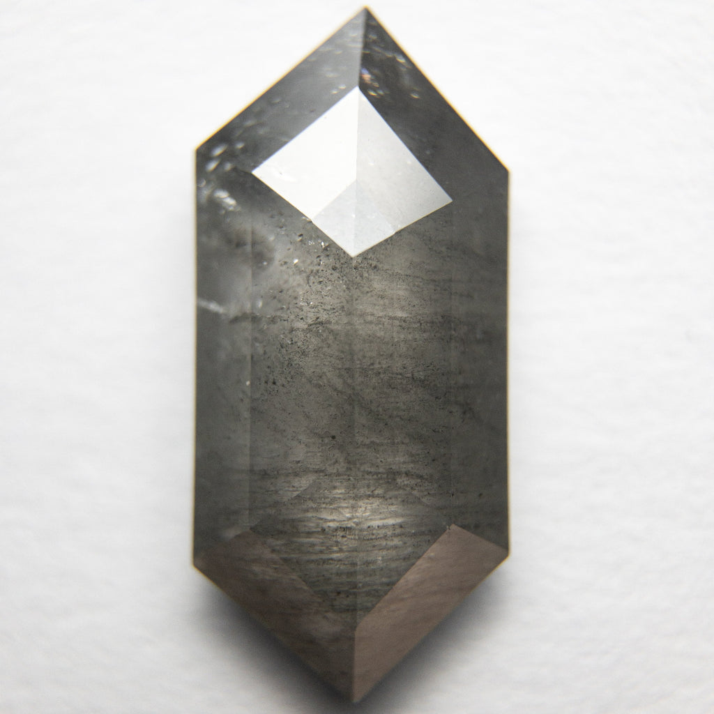 3.30ct Hexagon Rose Cut Diamond