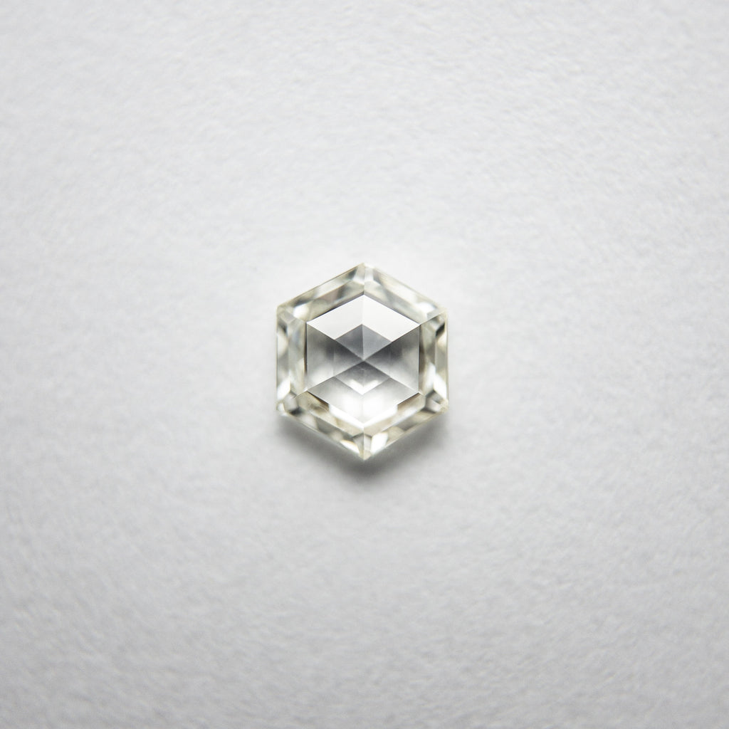 0.37ct Hexagon Rose Cut Diamond