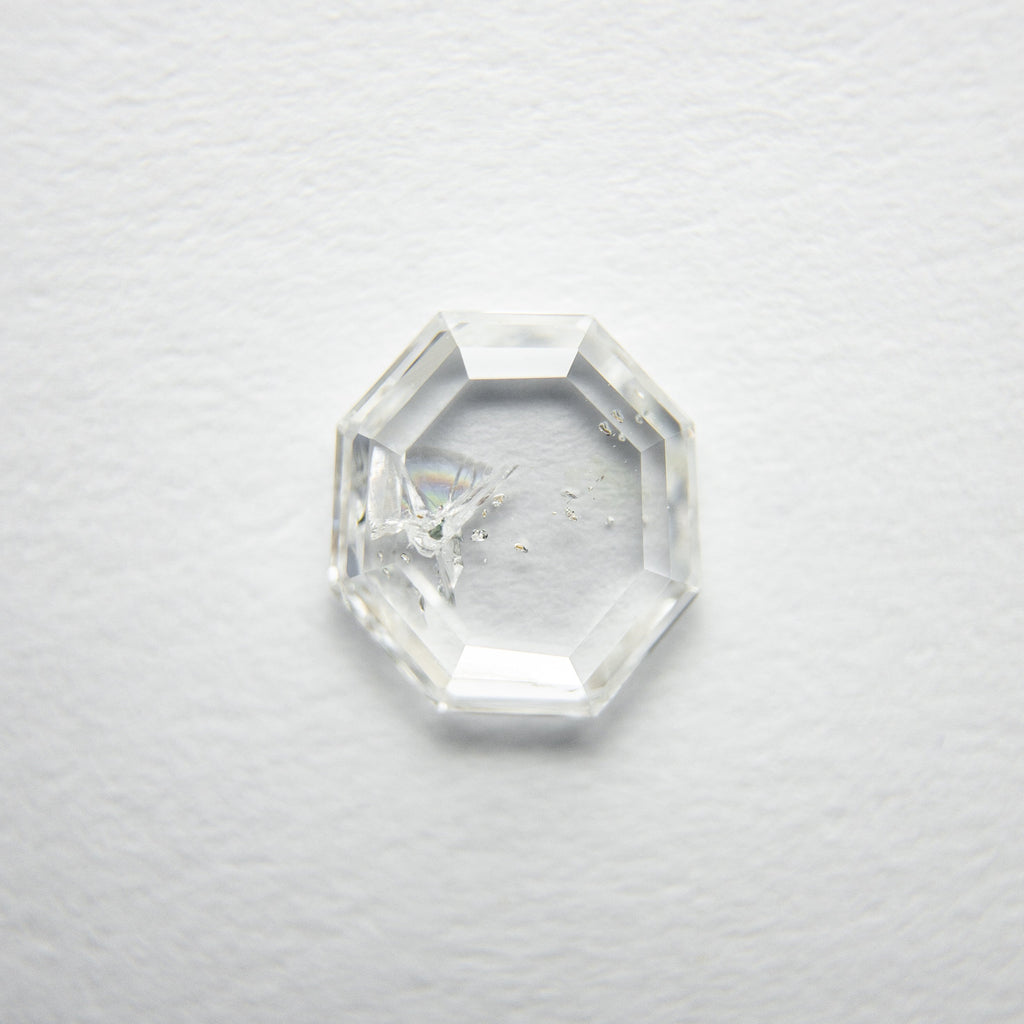 0.88ct Octagon Rose Cut Diamond