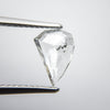 0.98ct Amorphous Geo Rose Cut Diamond
