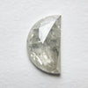 1.37ct Half Moon Rose Cut Diamond