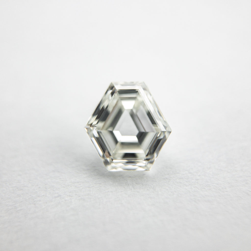 0.70ct Hexagon Step Cut Diamond