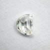 0.85ct Half Moon Antique Cut Diamond