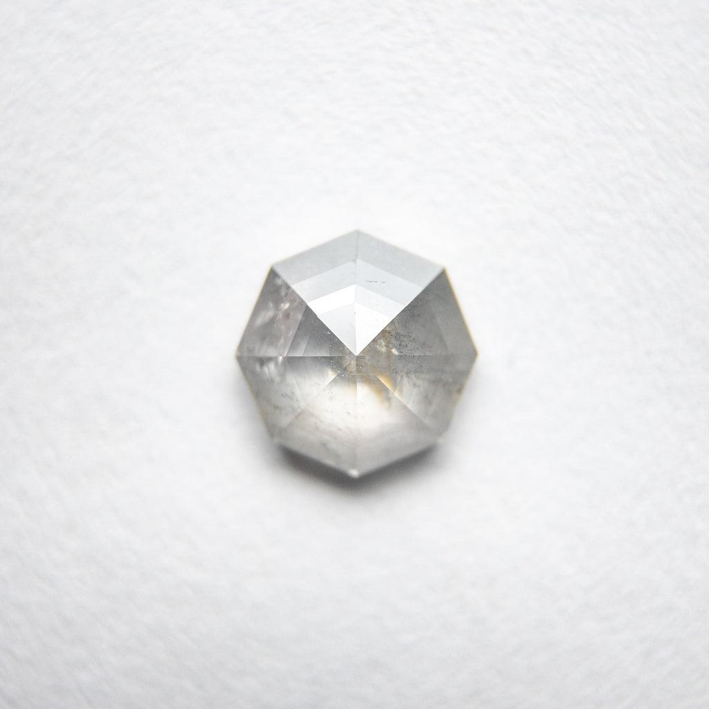 0.78ct Octagon Rose Cut Diamond