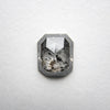 1.23ct Cut Corner Rectangle Rose Cut Diamond