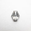 0.42ct Hexagon Rose Cut Diamond