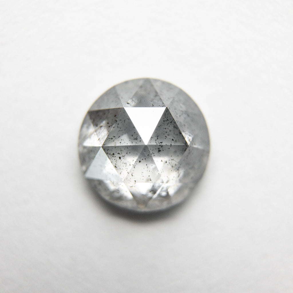 1.53ct 7.41x7.38x3.35mm Round Rosecut 18194-06 HOLD 6/15/20 D776