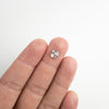 1.08c Round Rose Cut Diamond