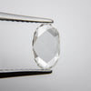 0.91ct Oval Rose Cut Diamond