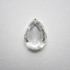 1.02ct Pear Rose Cut Diamond
