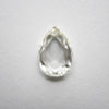 1.15ct Pear Rose Cut Diamond